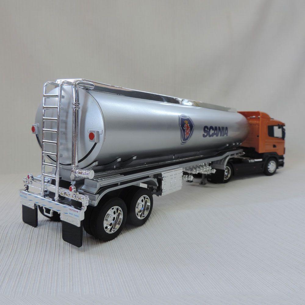 Miniatura Caminhão Tanque Scania R470 1:32