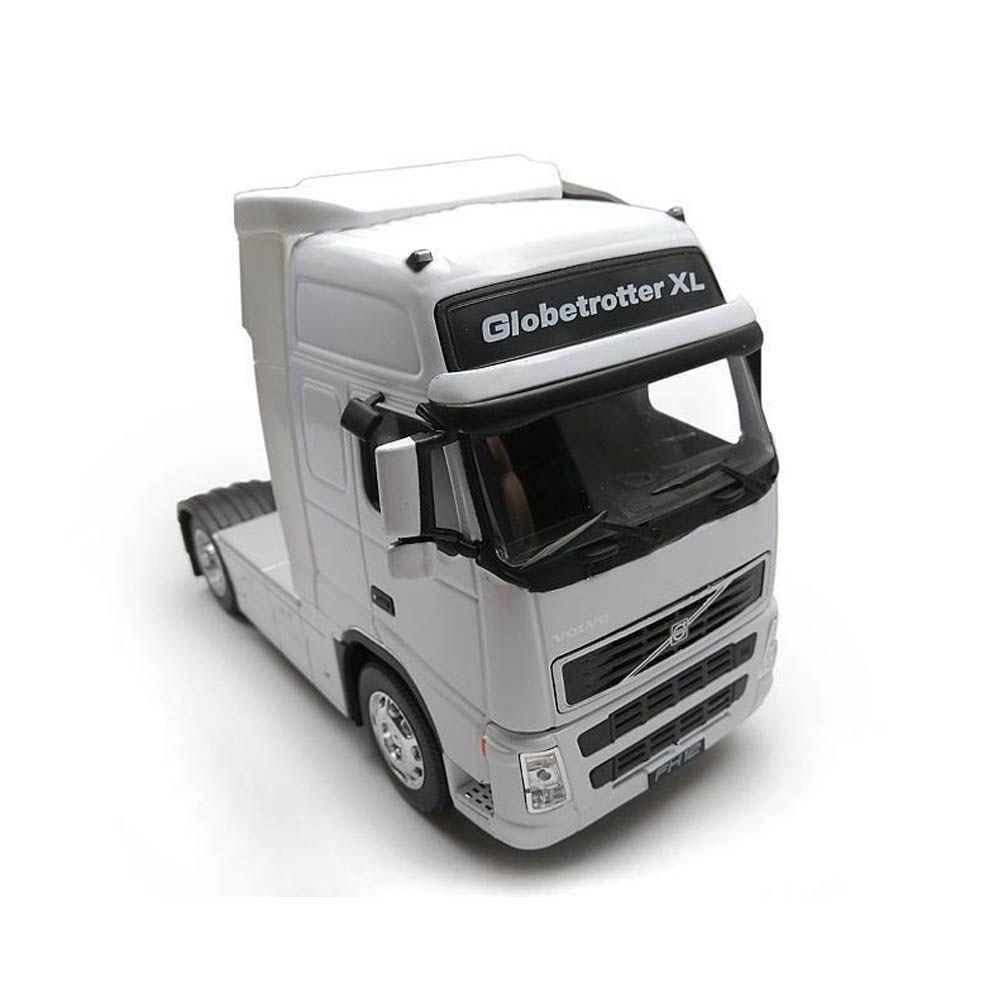 Miniatura Caminhão Volvo FH Globetrotter 500 Toco 4X2 Escala 1-32