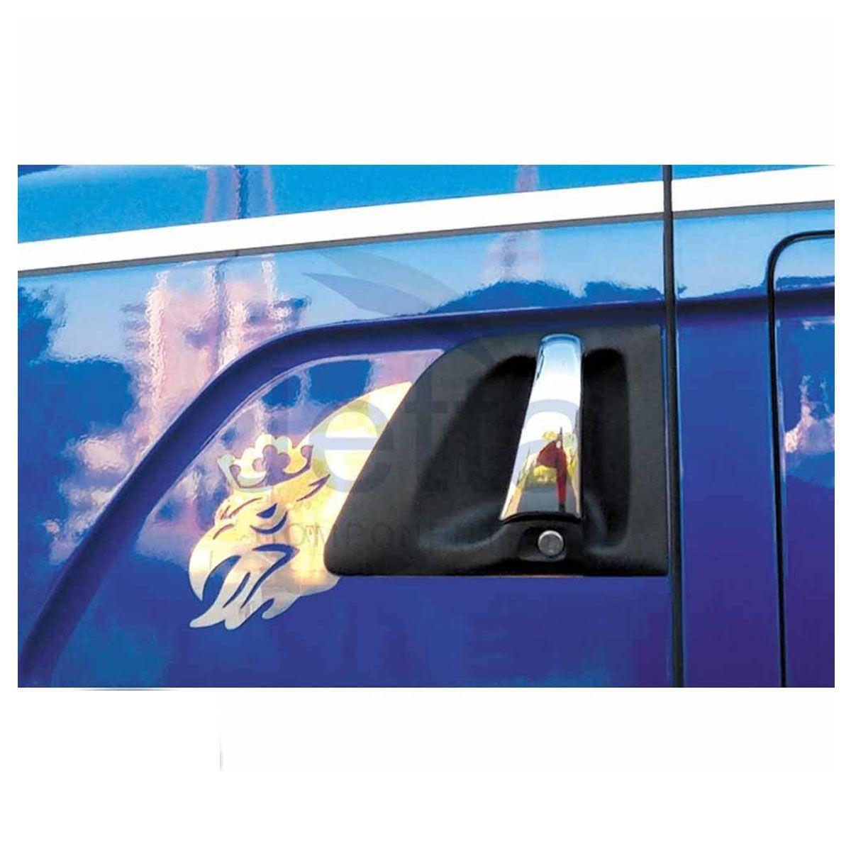 Moldura Inox de Porta Grifão P Compatível com o Caminhão Scania