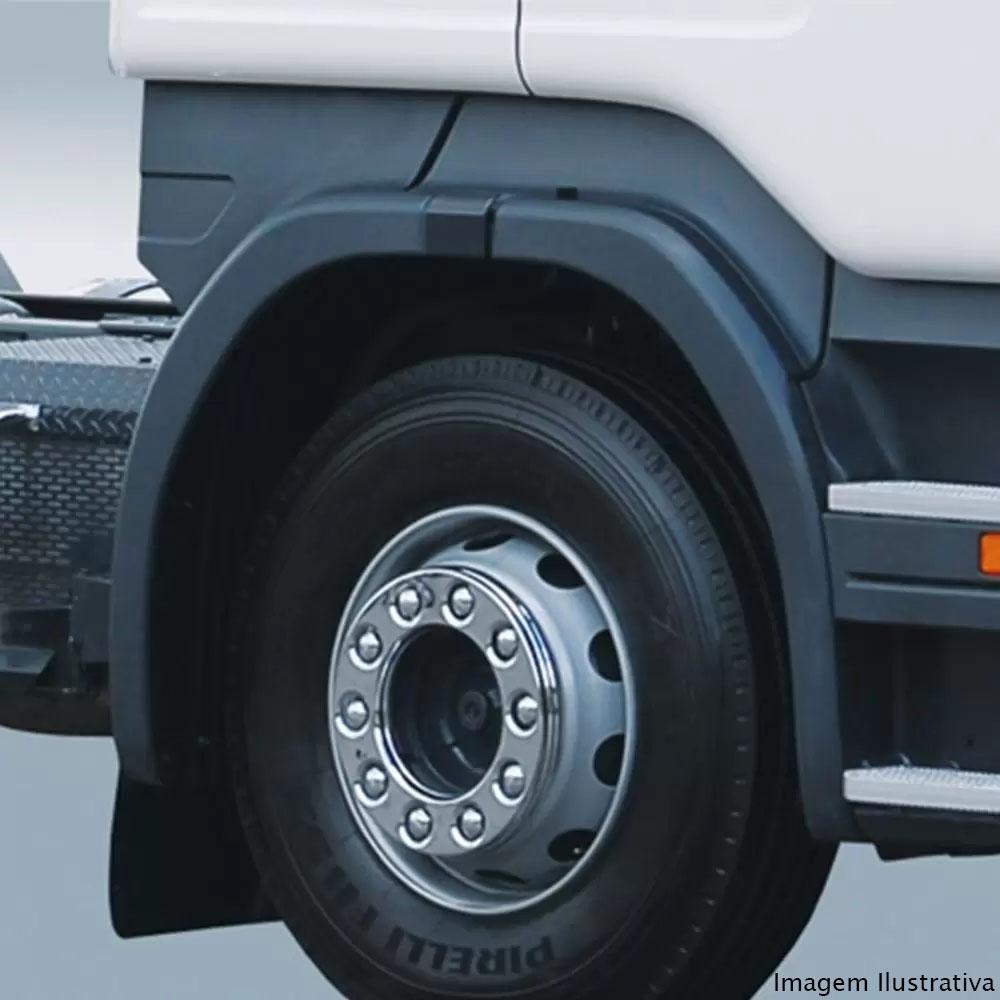 Par Calota Protetora Roda Dianteira Cromada para Ford F4000 após 2000