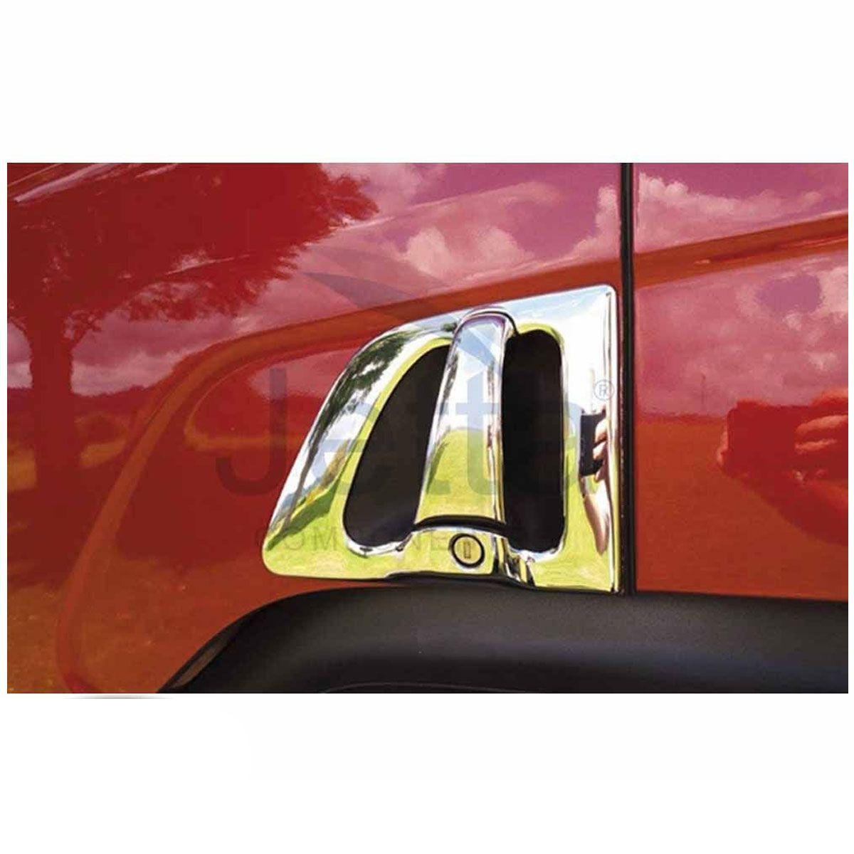 Par de Cobertura Fechadura da Porta Compatível com Caminhão Scania de 1998 à 2017