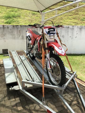Par de esticador com catraca e mosquetão para motos 800 kg