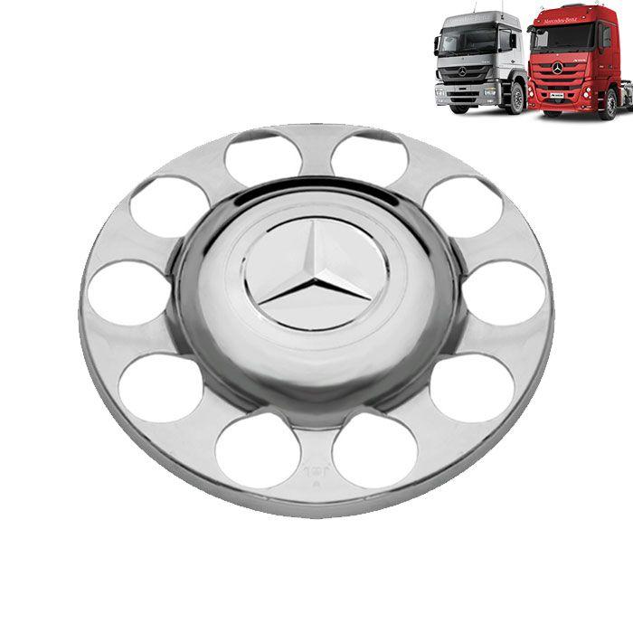 Par de Sobre Tampa do Cubo da Tração para Mercedes Benz Actros e Axor (sem redução)