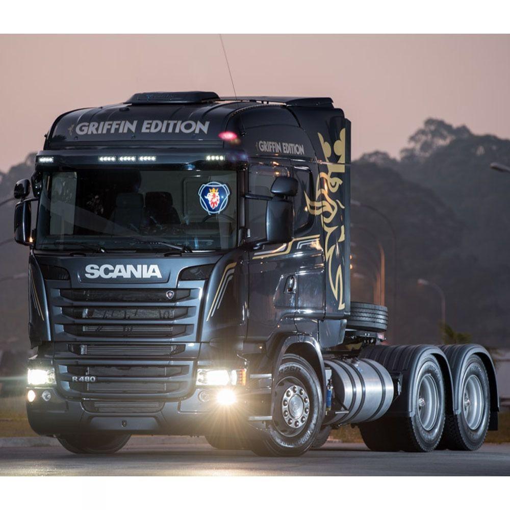 Par Lanterna Dianteira Pisca Led Compatível com o Caminhão Scania S5 Edition 2241544 1747981