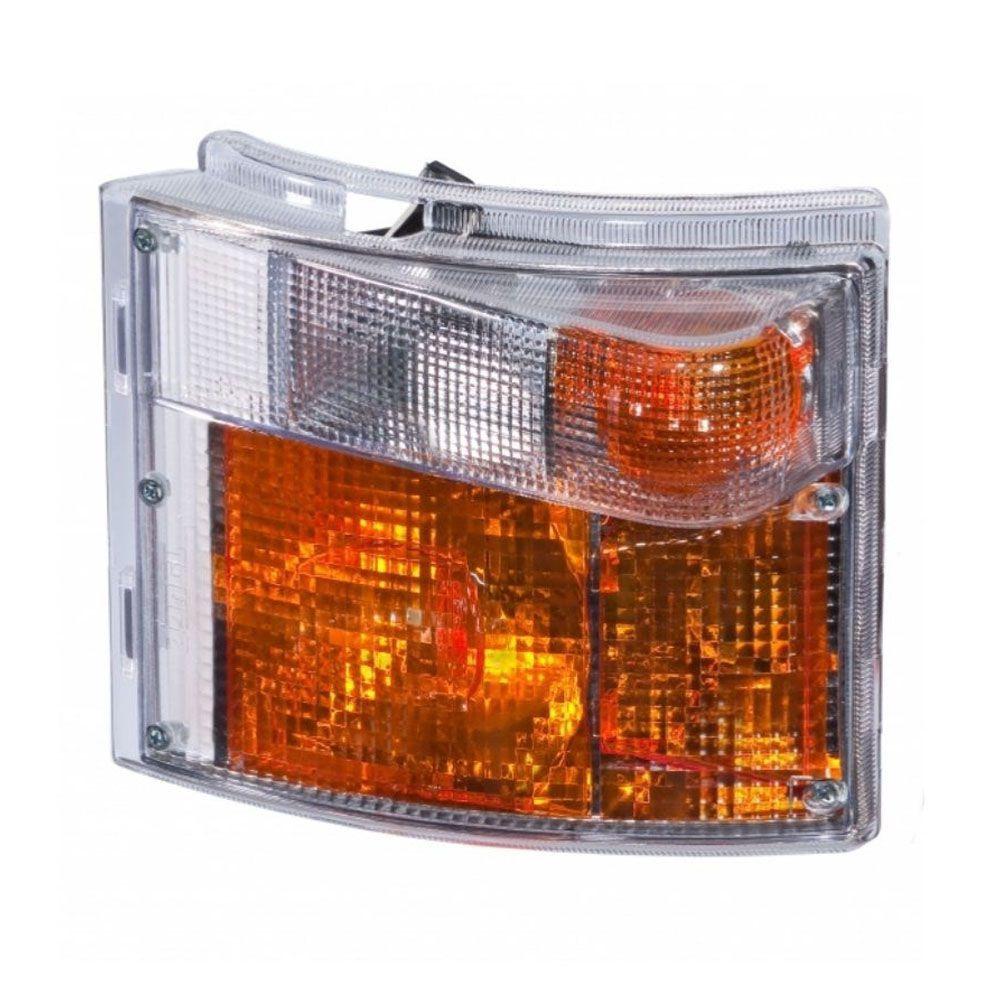Par Lanterna Pisca Dianteiro Compatível com Caminhão Scania S4 94 114 124 P G R 2006...LD LE