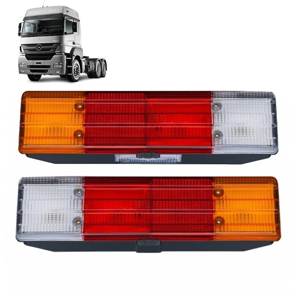 Par Lanternas Traseiras Caminhão Axor LE LD