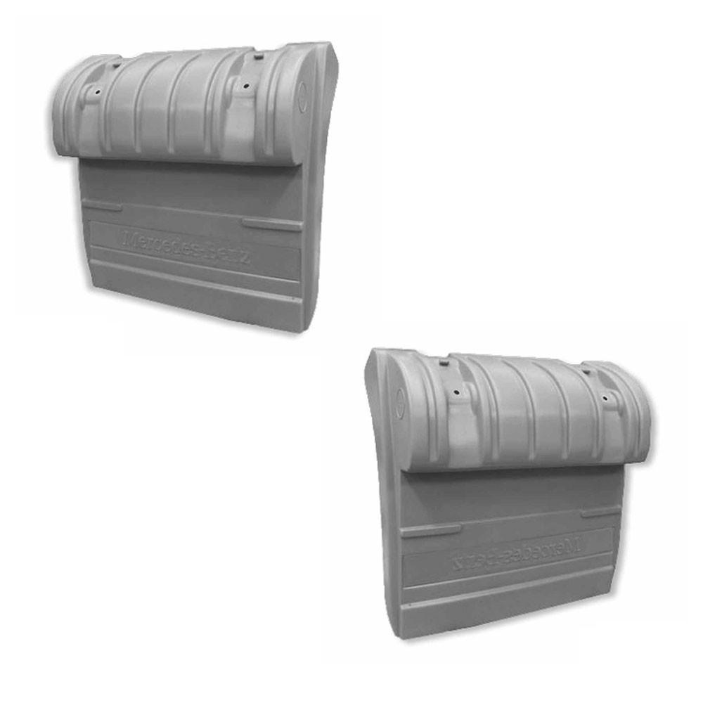 Par Meio Para-lama para Mercedes Benz Actros | Axor Traseiro Lado Direito Lado Esquerdo