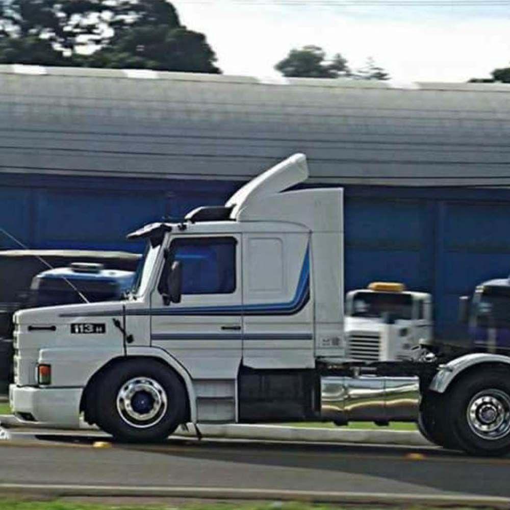 Par Tanques de Inox Compatível com o Caminhão Scania 112 113 143 300 400 Litros
