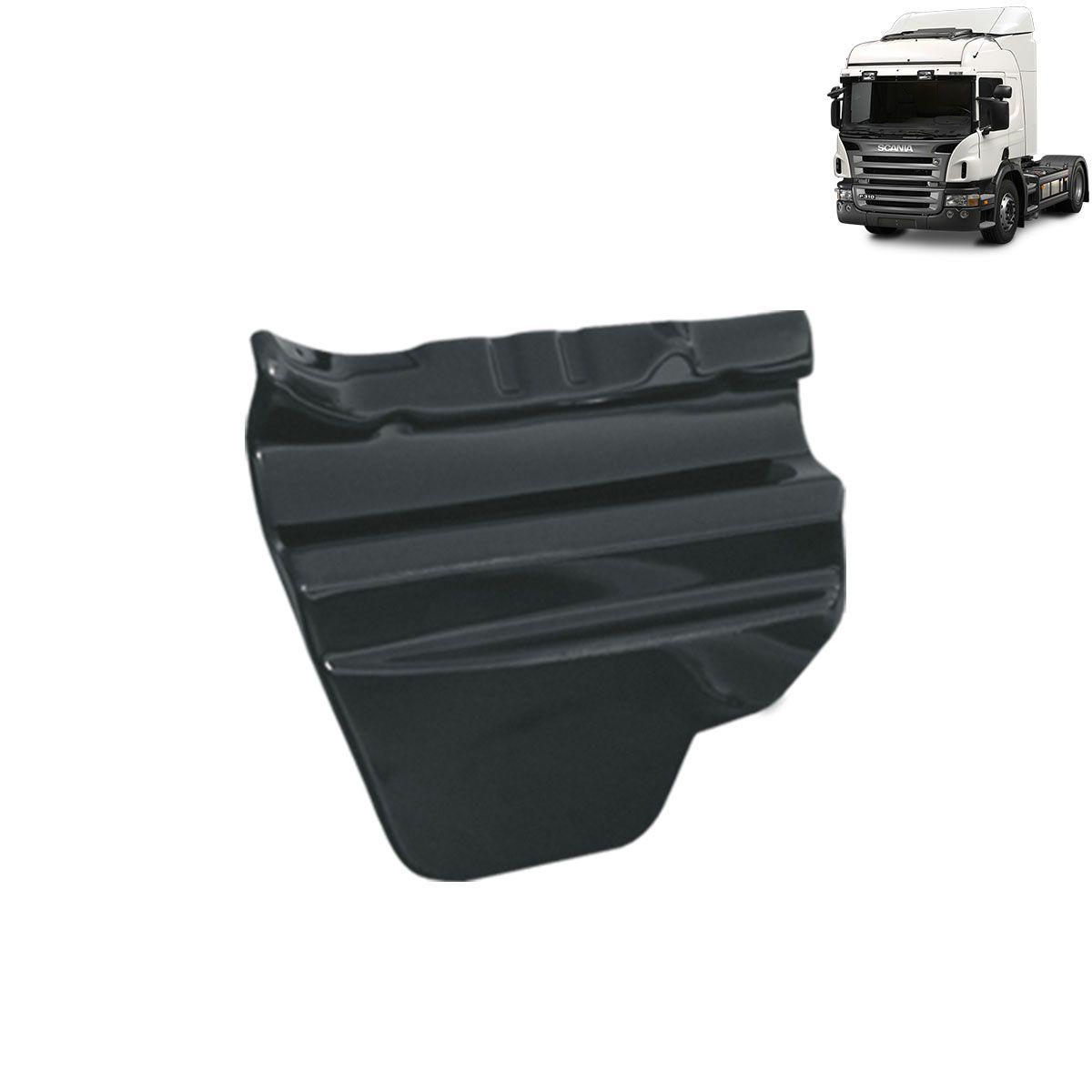 Par Tapa Estribo / Chineleira em Plástico Compatível com o Caminhão Scania P 250/270/310/340/360 2008 em Diante