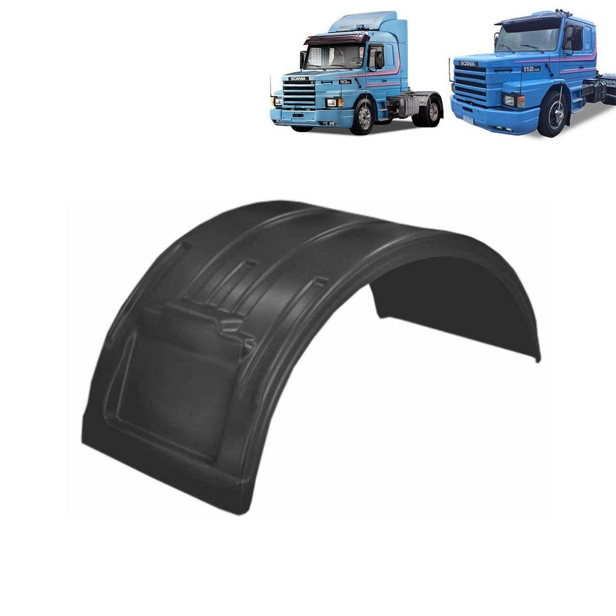 Par Para-lama Compatível com o Caminhão Scania 112 | 113 Preto CH 5,5