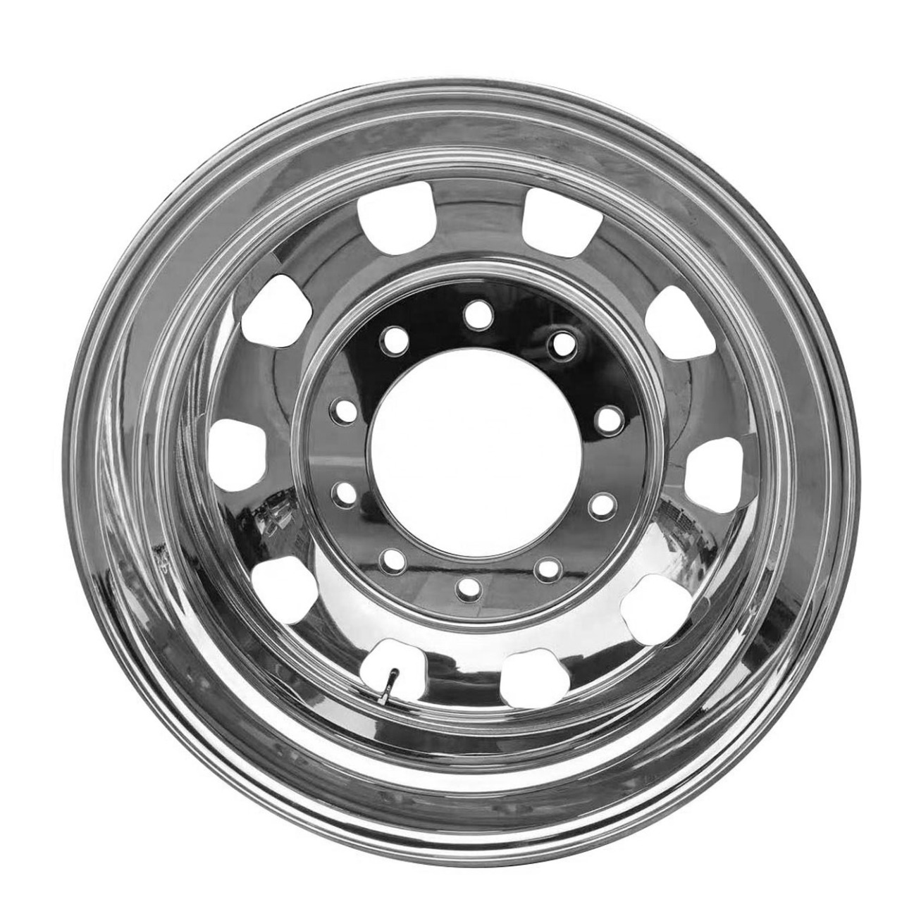 Roda de Alumínio Caminhão Speedline Borda Larga Alto Brilho Aro 22,5 X 8,25
