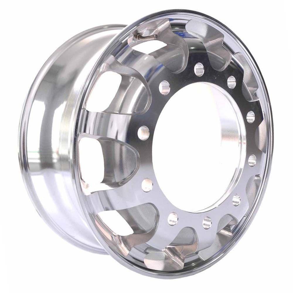 Roda de Alumínio Caminhão Speedline GT1 Aro 22,5 X 8,25 10 Furos