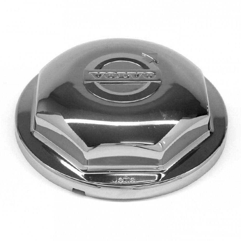 Sobre Tampa Cromada do Cubo Caminhão Volvo à partir de 1998 Par