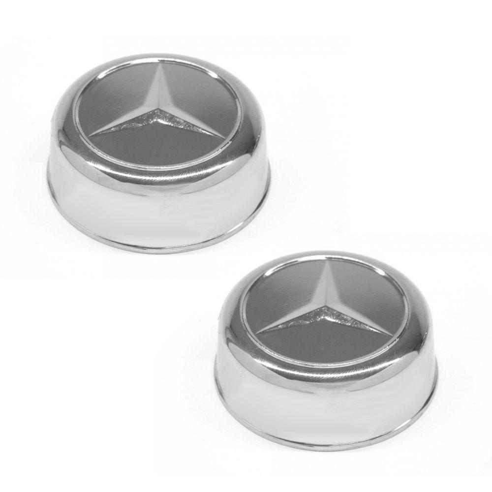 Sobre Tampa do Cubo de Roda Dianteiro Caminhão Mercedes Benz Acello ( PAR )