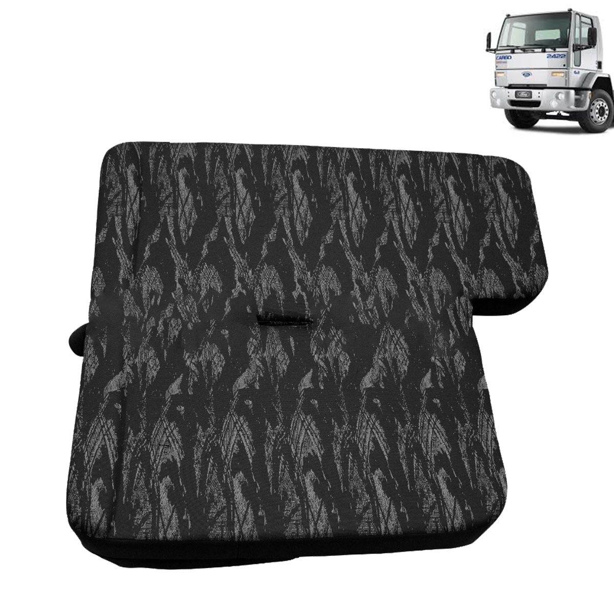 Sofá Cama para Caminhão Ford Cargo Cabine Antiga Lado Carona