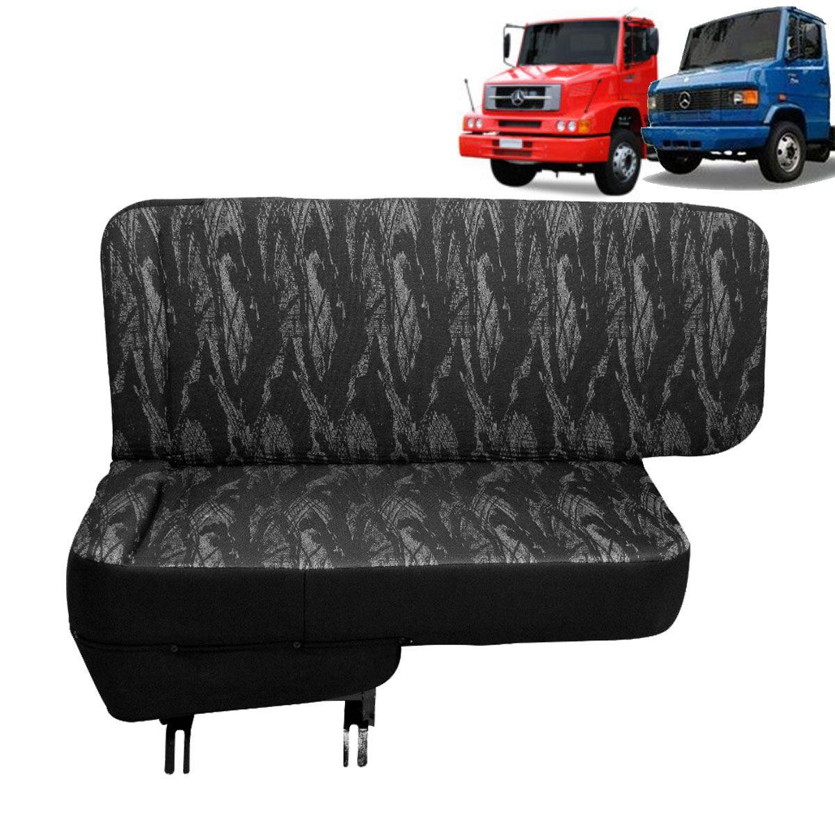 Sofá Cama para Caminhão MB 1618 MB 710 Lado Carona