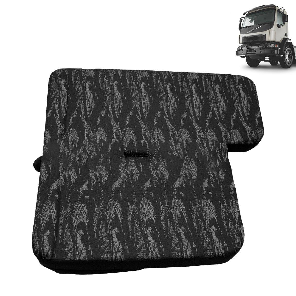 Sofá Cama para Caminhão Volvo VM Cabine Simples Lado Carona