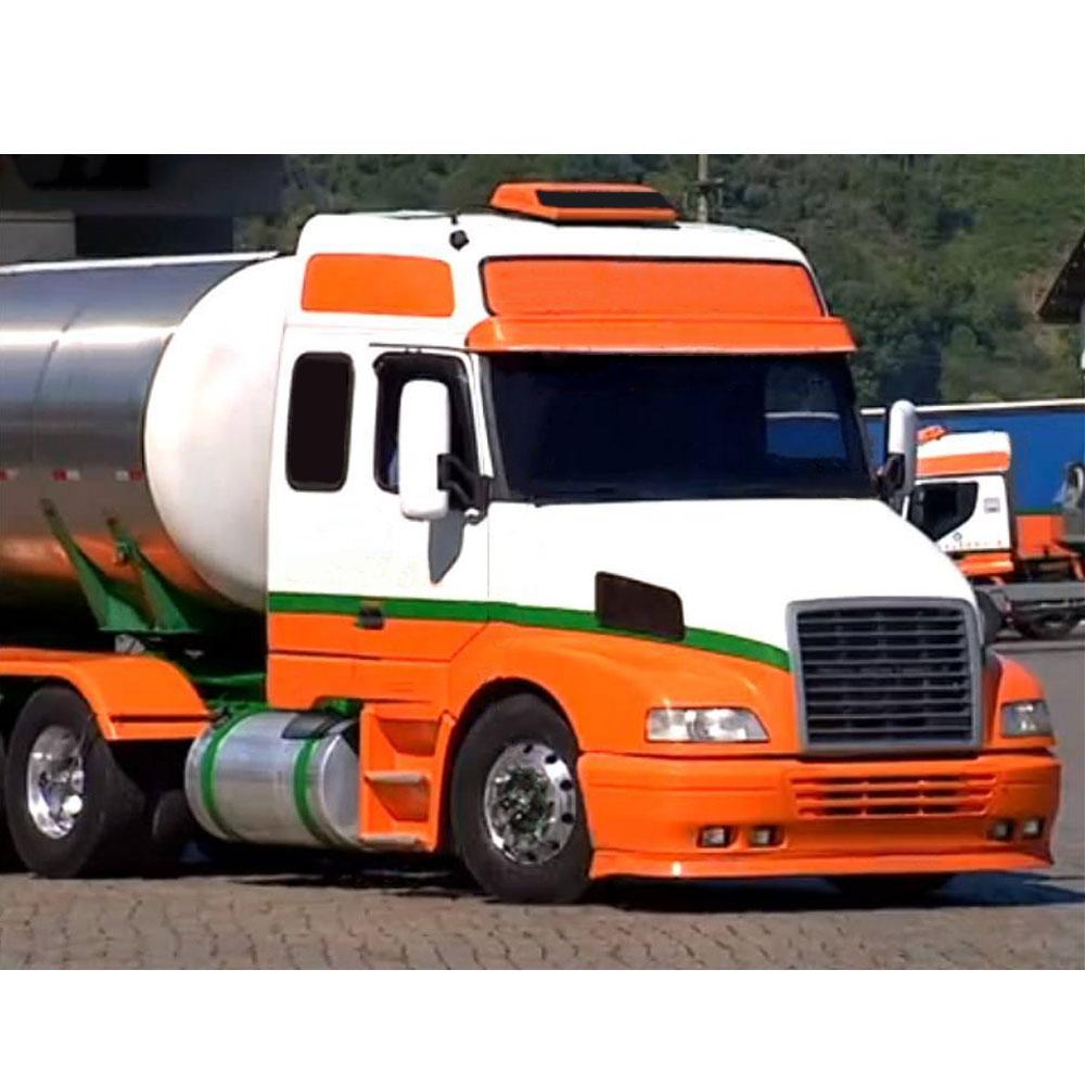 Spoiler Bigodinho Para-choque para Caminhão Volvo NH em Fibra