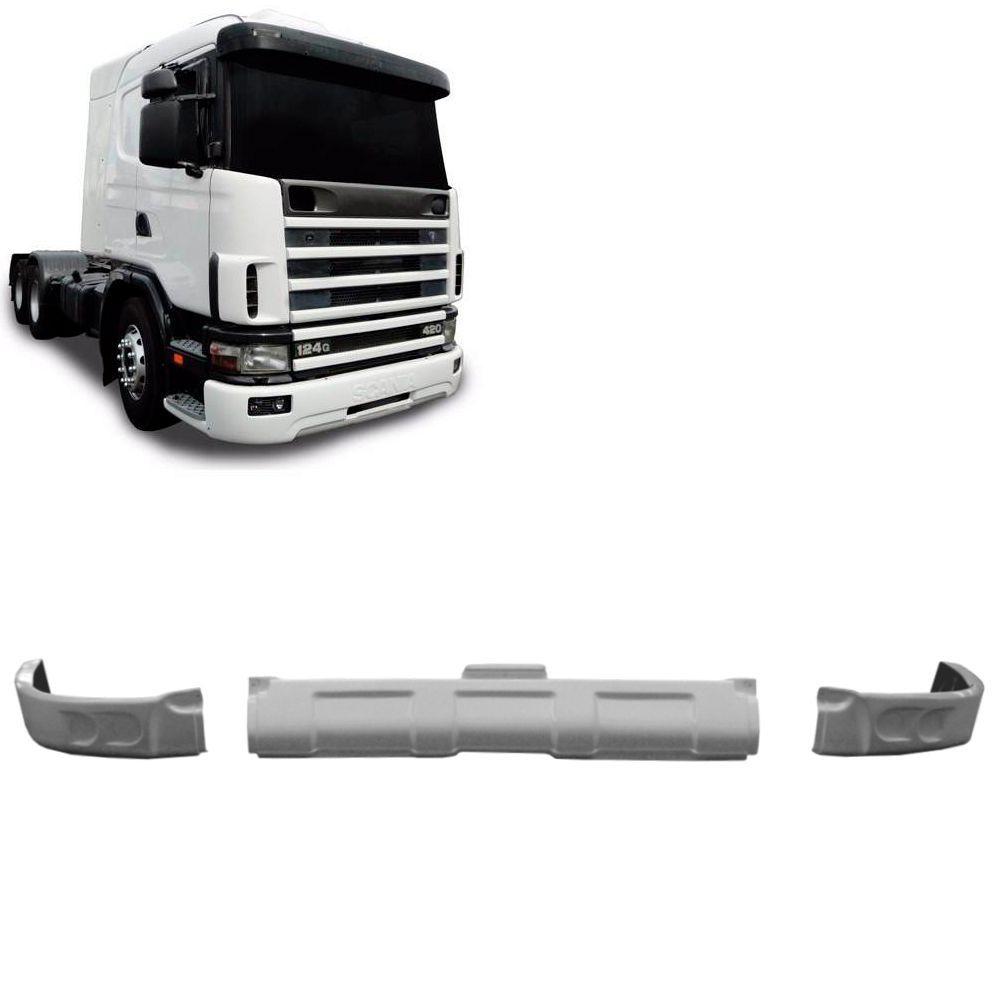 Spoiler Bigodinho Para-Choque Compatível com o Caminhão Scania S4 TriPartido