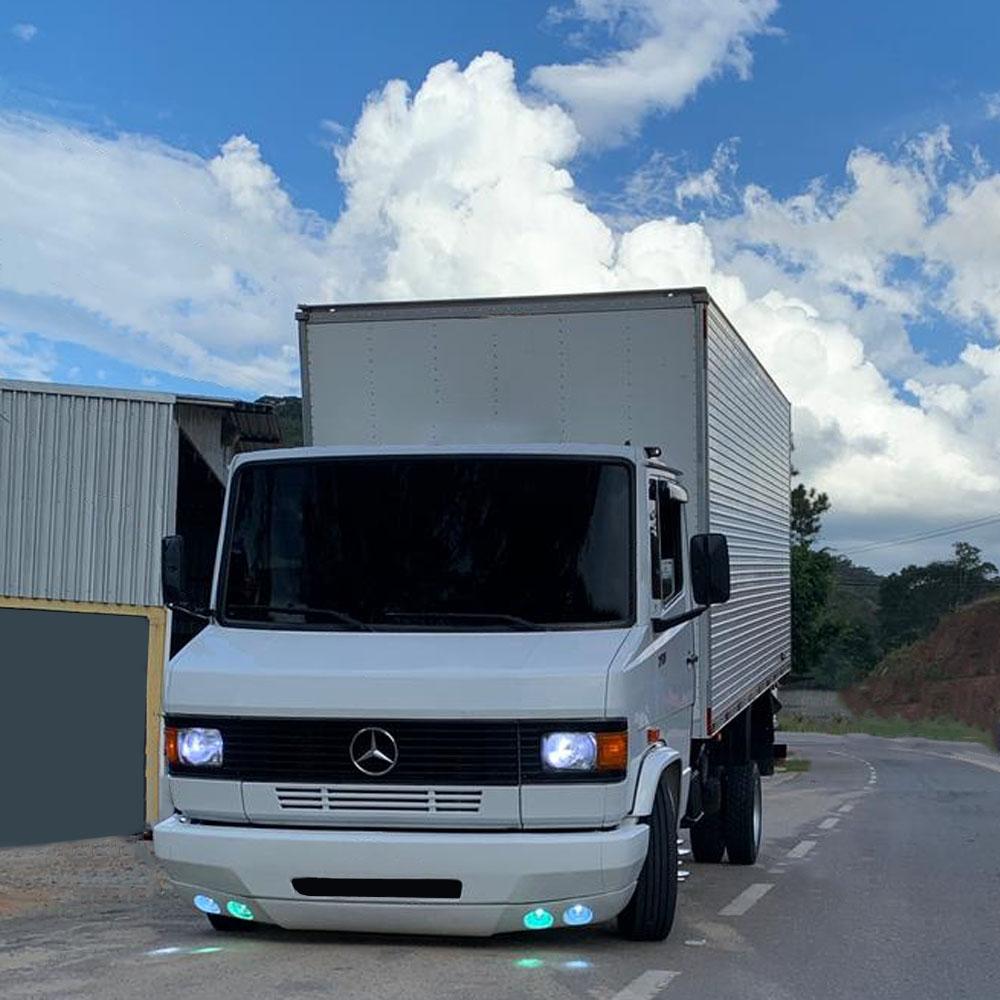 Spoiler Para-choque Para Caminhão Mb 709 710 910 912 914