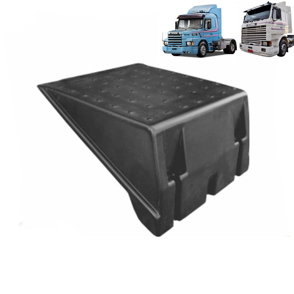Tampa Caixa de Bateria Compatível com o Caminhão Scania 113 R/T