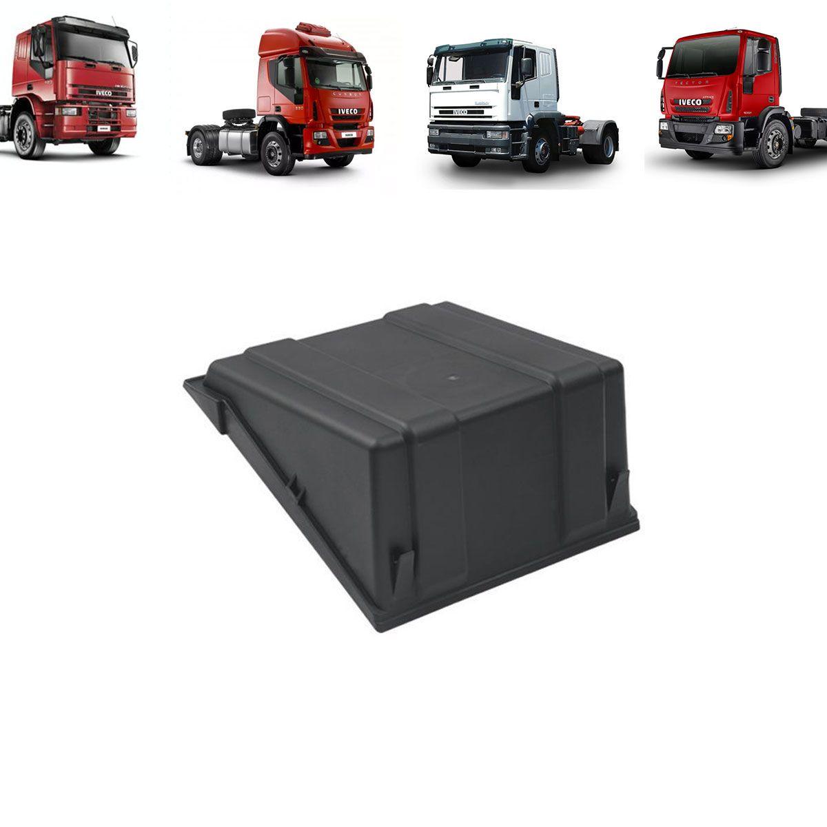Tampa para Caixa de Bateria Caminhão Iveco Cursor - Tector - Eurocargo - Cavalino 500318410