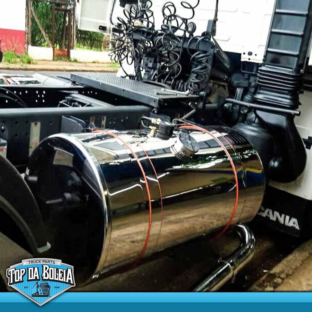 Tanque Combustível Caminhão Inox 440 L Especial Completo