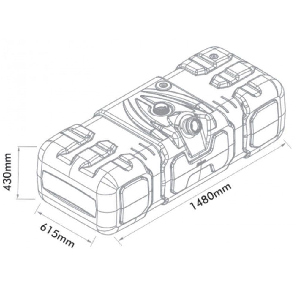 Tanque Combustível Plastico Mb Axor/of/oh Ônibus Após 2001