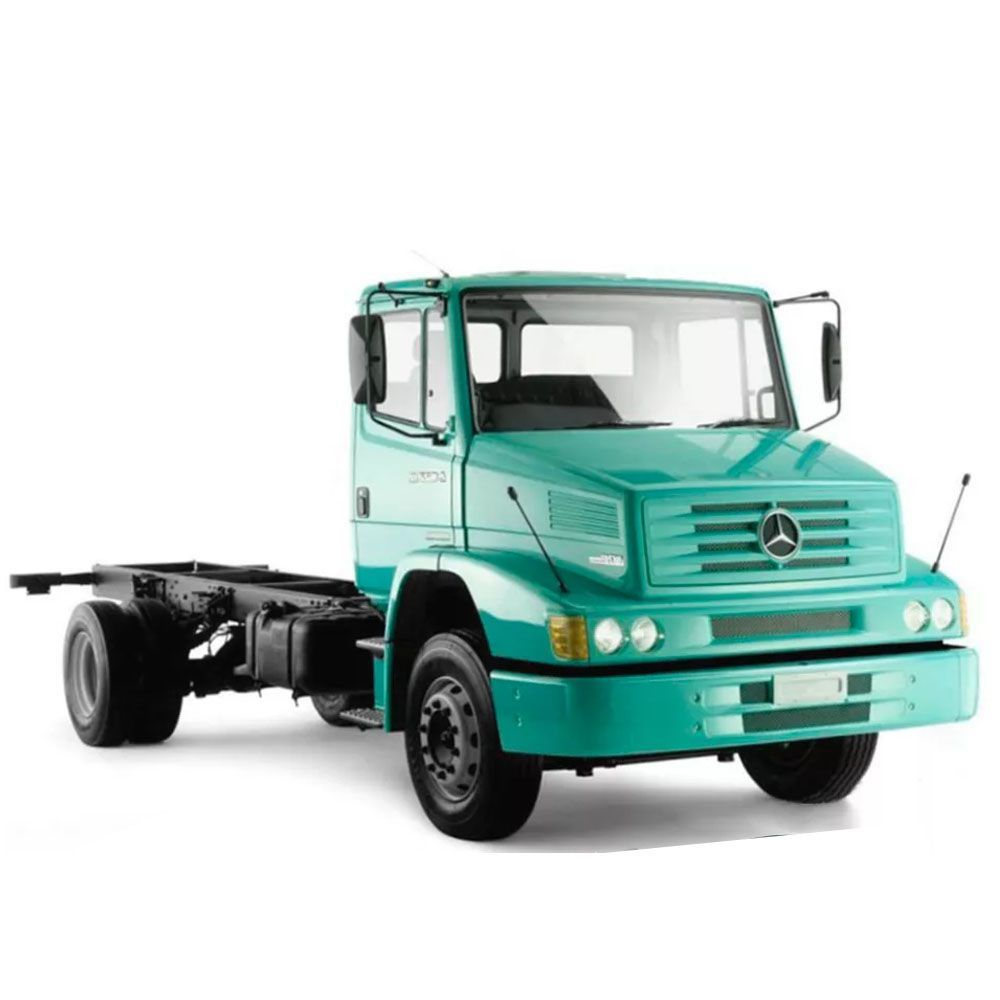 Tanque Combustível Plástico Mercedes-benz 1620 Até 2002 210l