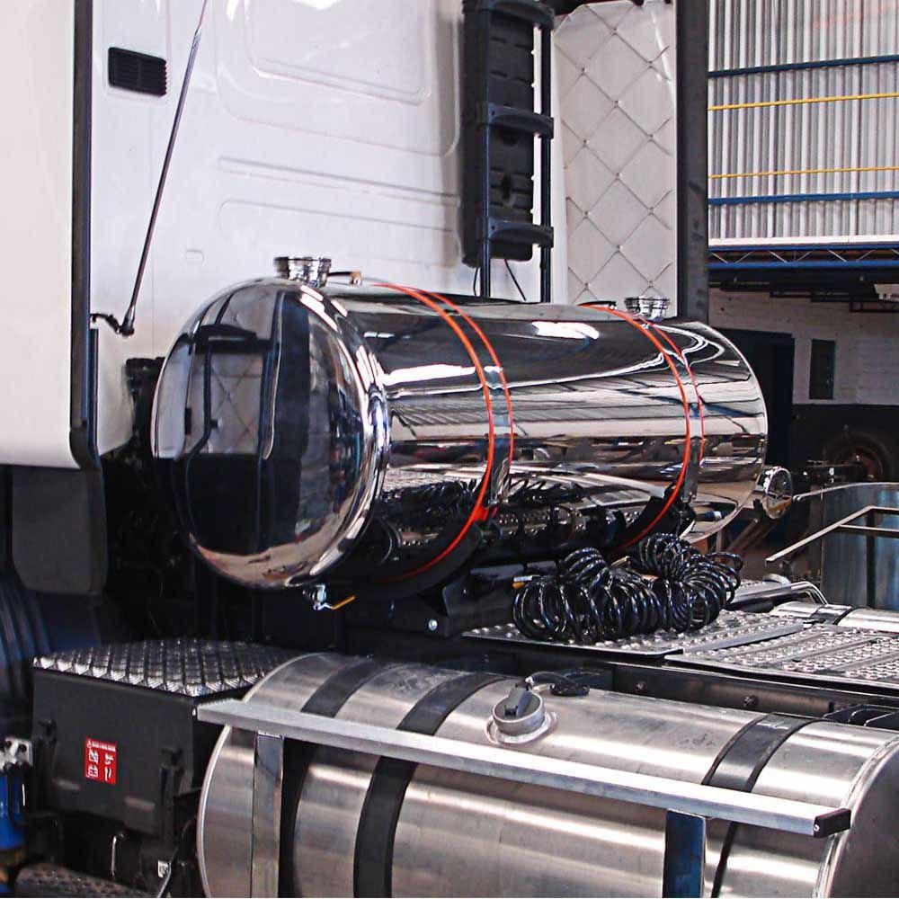 Tanque Cela para Arla Aço Inox 235 Litros Plataforma