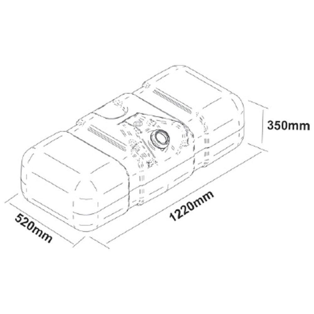 Tanque De Combustível Plástico Para Iveco Vertis 150 Litros