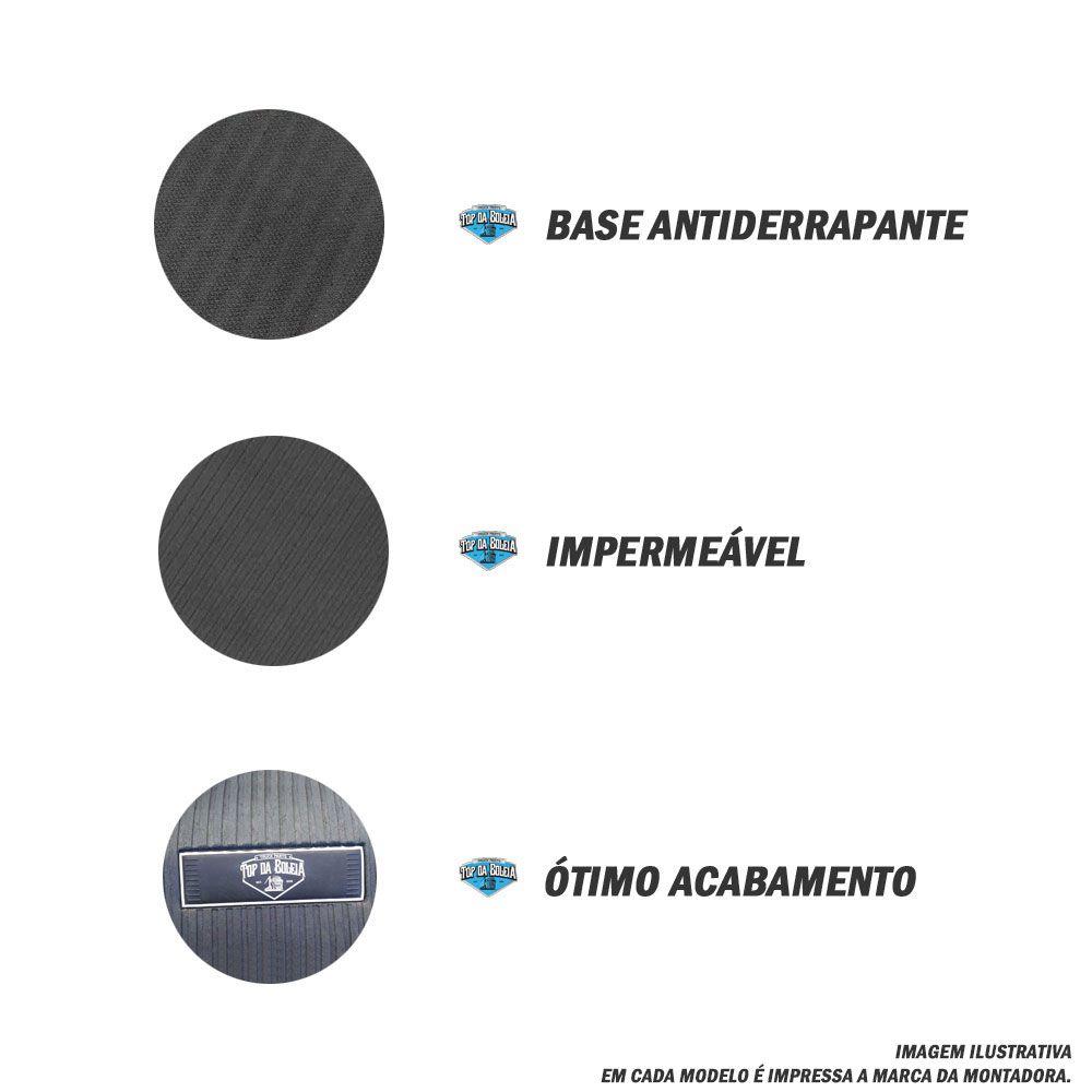 Tapete para Caminhão Mercedes Benz Accelo 2014 Borracha PVC