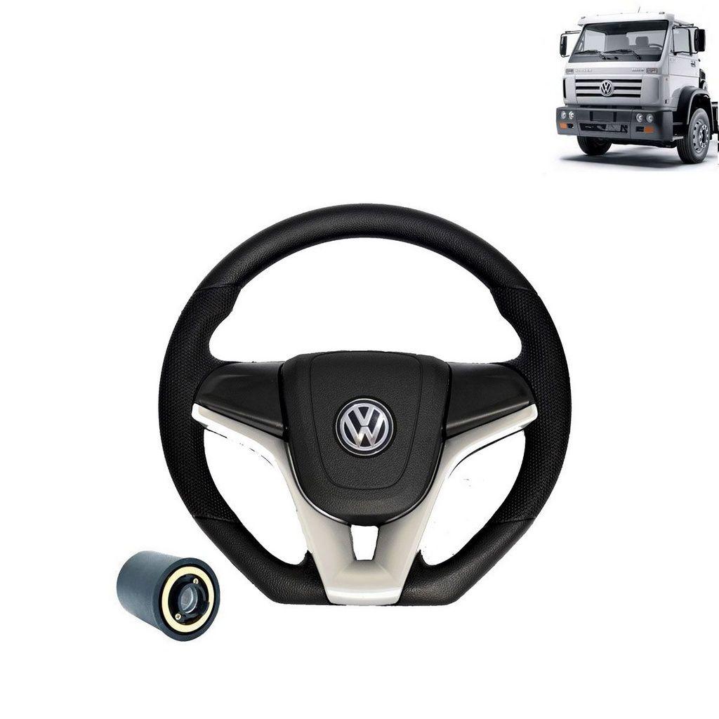 Volante esportivo para caminhão VW Worker c/cubo mod Camaro