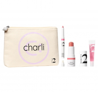 Kit Charli's Go-To Faves 3-Piece + Bag MORPHE BRUSHES