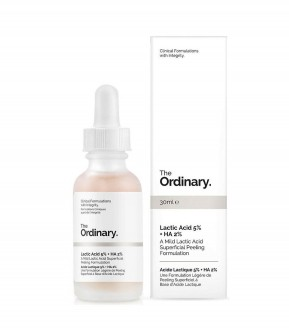 Lactic Acid 5% + HA THE ORDINARY