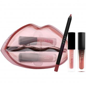 Matte & Cream Lip Set Bombshell HUDA BEAUTY
