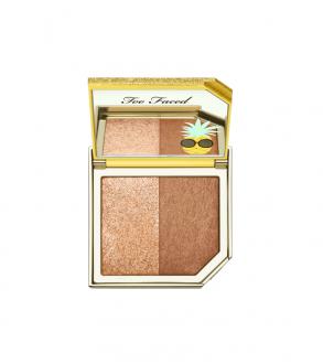 Mini Pineapple Paradise Sun Strobing Bronzer TOO FACED