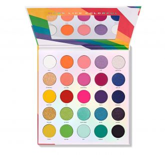 Paleta 25L Live in Color Pan Artistry Palette MORPHE BRUSHES