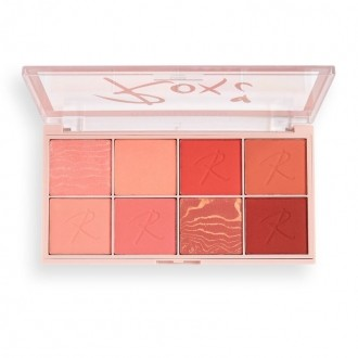 Paleta Blush Burst Face Roxxsaurus X REVOLUTION