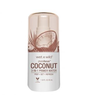 Spray Photo Focus Primer Water Coconut  WETN WILD