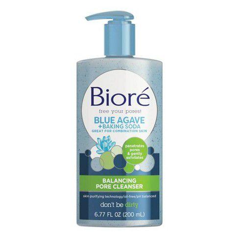 Blue Agave + Baking Soda Balancing Pore BIORÉ
