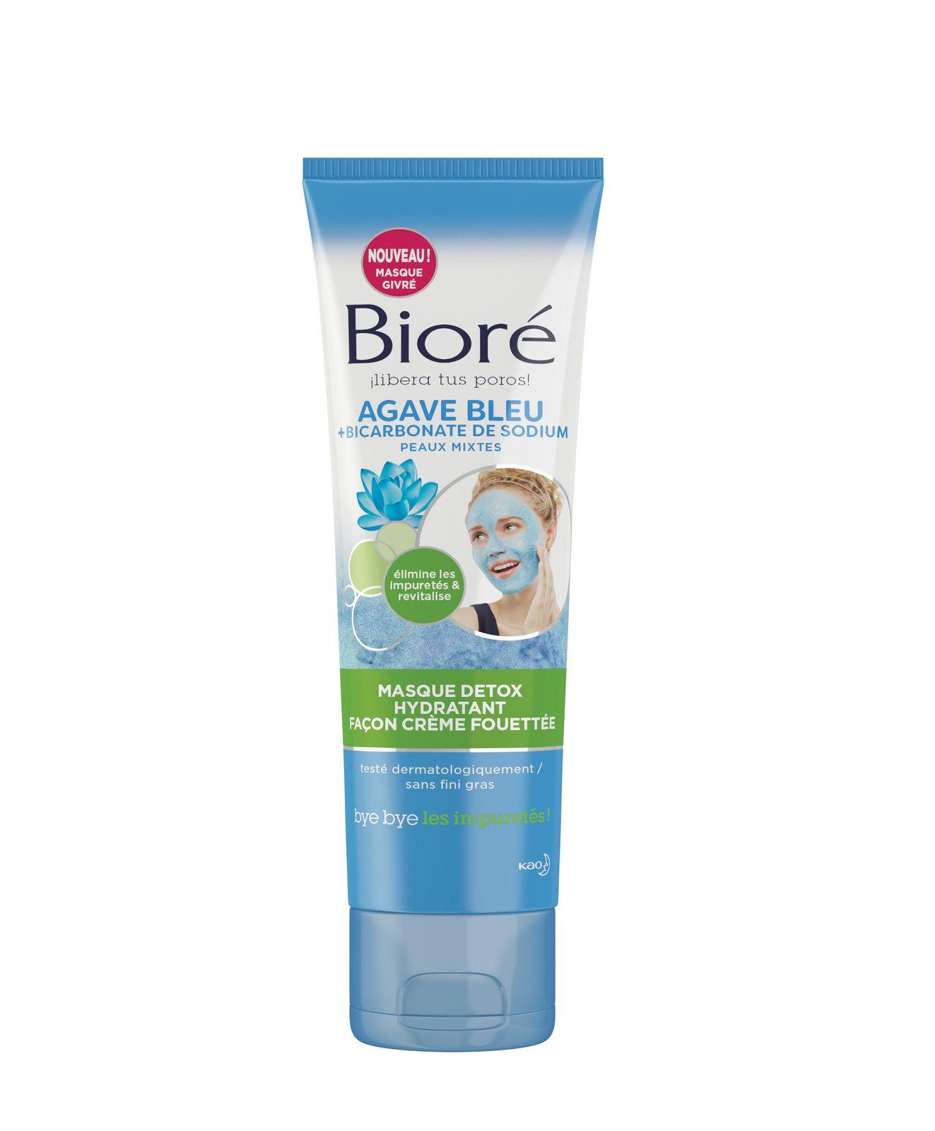 Blue Agave & Baking Soda Whipped Detox Mask BIORÉ