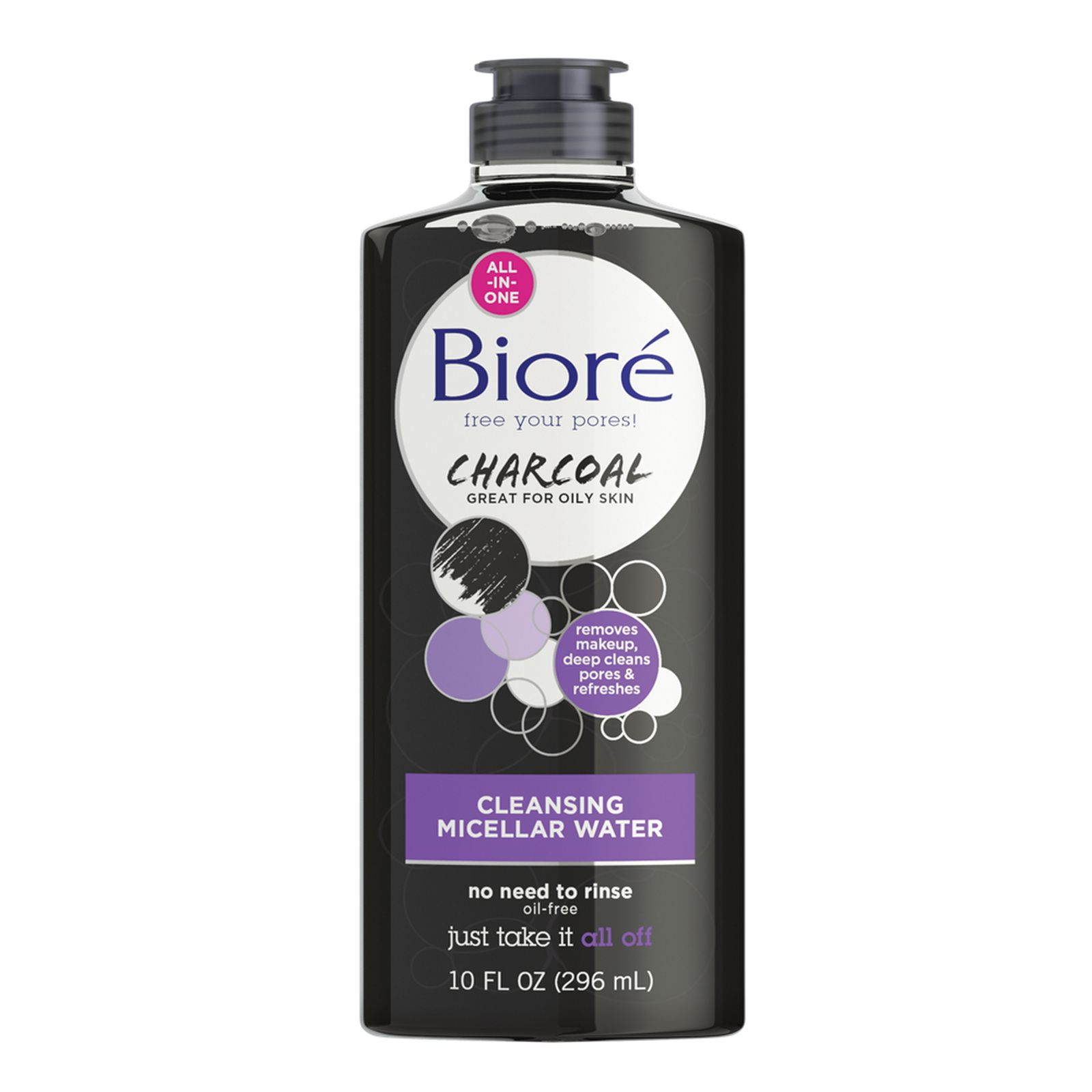 Charcoal Cleansing Micellar Water BIORÉ