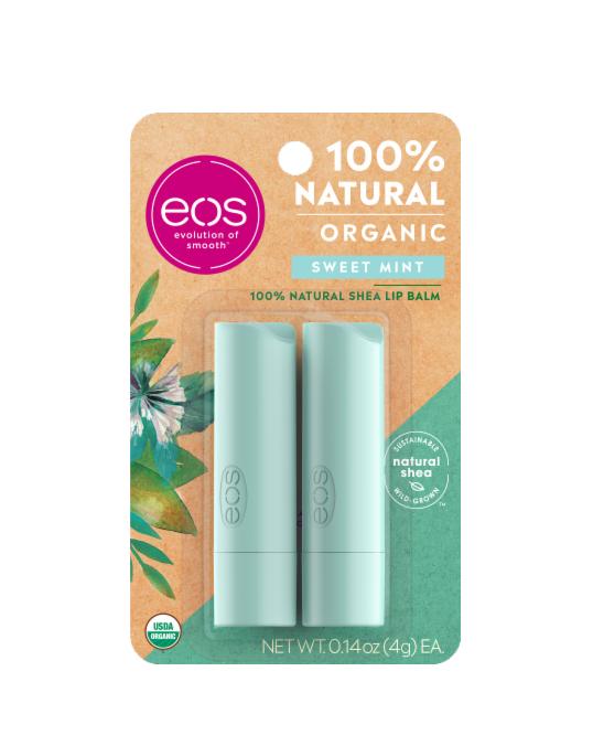 Duo Sweet Mint Stick Lip Balm EOS