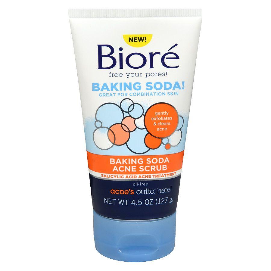 Gel Esfoliante Baking Soda Acne Scrub BIORÉ
