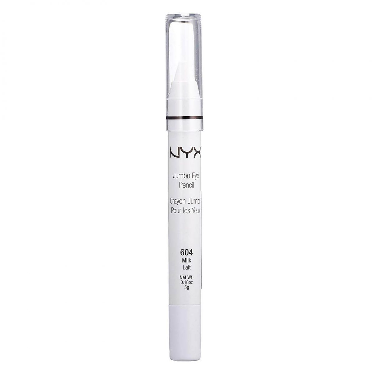 Lápis Jumbo Eye Pencil 604 Milk NYX
