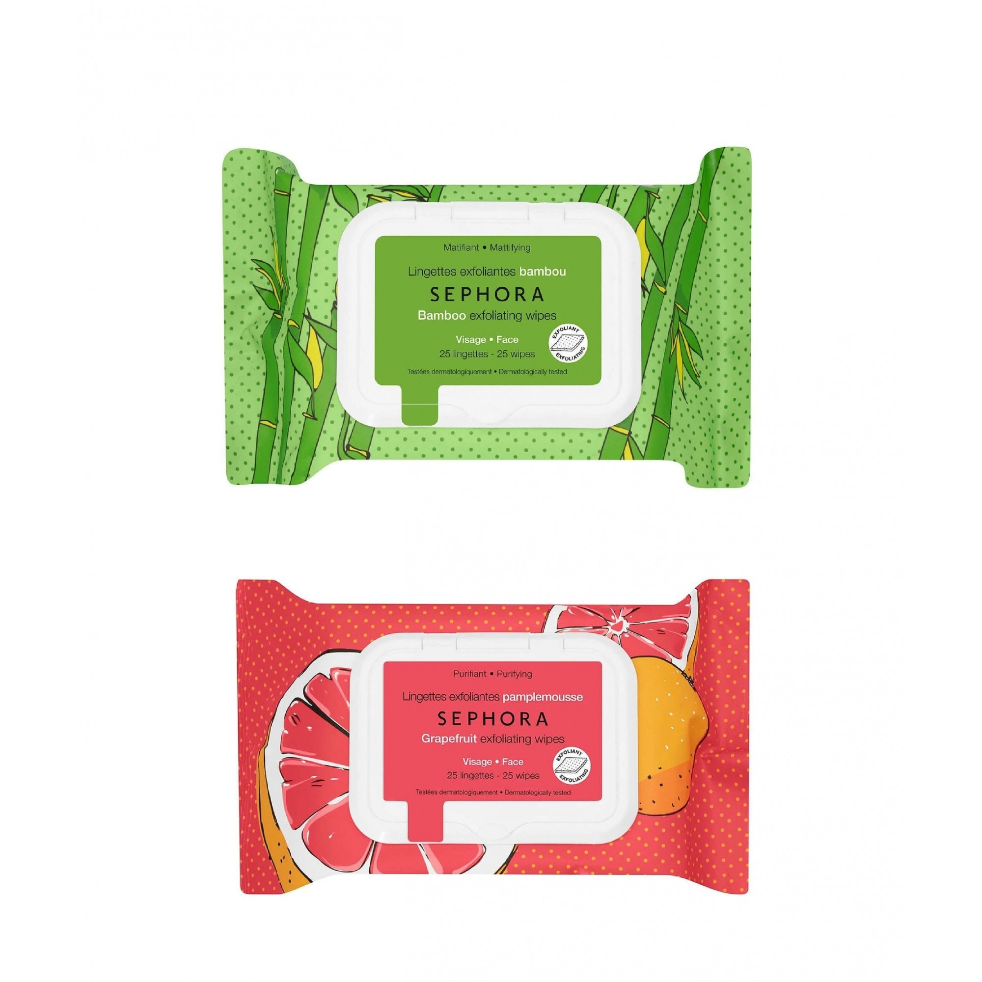 Lenços Exfoliating Wipes SEPHORA