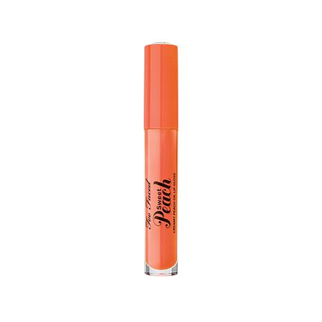 Lip Gloss Sweet Peach Poppin Peach TOO FACED
