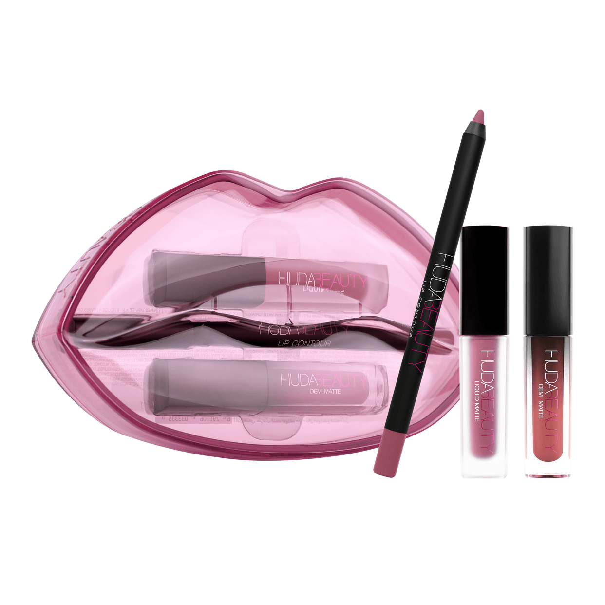 Matte & Cream Lip Set Trophy Wife HUDA BEAUTY