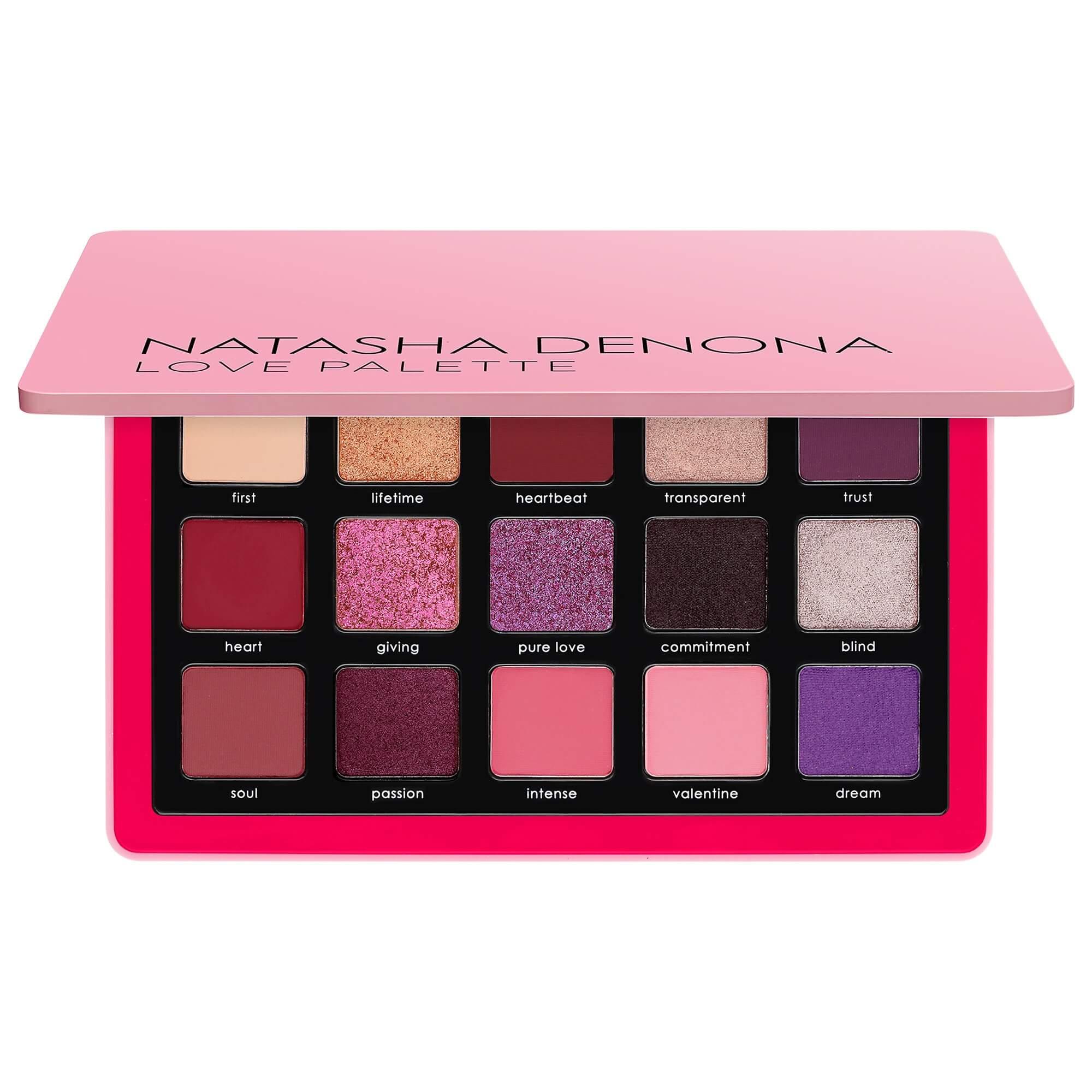 Love Eyeshadow Palette NATASHA DENONA